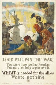 Charles Edward Chambers - Food Will Win the War, 1917