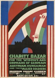 Winold Reiss - Charity Bazaar for Widows and Orphans, 1916