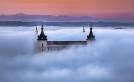 Jesus M. Garcia - Toledo City Foggy Sunset