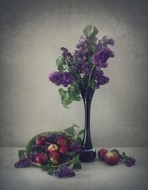 Dimitar Lazarov - Still life with lilac