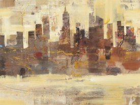 Albena Hristova - City Skyline at Dusk Crop