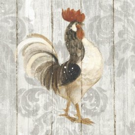 Albena Hristova - Farm Friend I on Barn Board