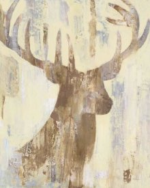 Albena Hristova - Golden Antlers I Neutral Grey