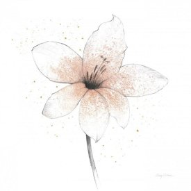 Avery Tillmon - Coral Graphite Flower II