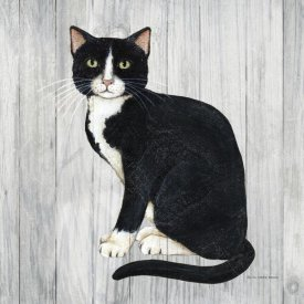 David Carter Brown - Country Kitty I on Wood