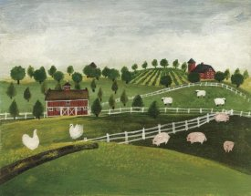 David Carter Brown - A Day at the Farm I Bright