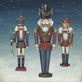 David Carter Brown - Soldier Nutcrackers Snow