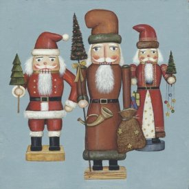 David Carter Brown - Santa Nutcrackers