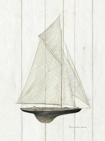 David Carter Brown - Sailboat I
