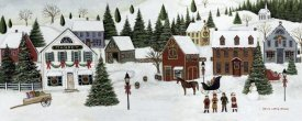 David Carter Brown - Christmas Valley Village Crop
