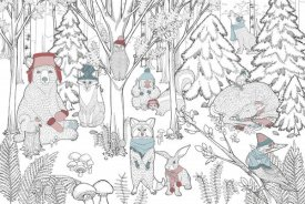 Elyse DeNeige - Color the Forest Color XIII