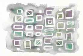 Elyse DeNeige - Watercolor Squares Bright