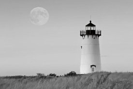 Katherine Gendreau - Moon over Marthas Vineyard BW