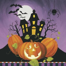 Lisa Audit - Happy Haunting House on Pumpkins
