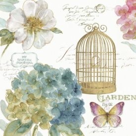 Lisa Audit - Rainbow Seeds Floral Birdcage III