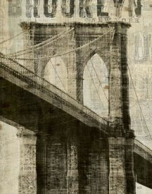 Michael Mullan - Vintage New York Brooklyn Bridge