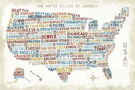 Michael Mullan - US City Map