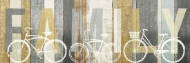 Michael Mullan - Beachscape Bicycle Family Gold Neutral