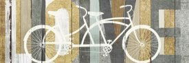 Michael Mullan - Beachscape Tandem Bicycle Love Gold Neutral