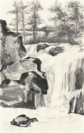 Chris Paschke - Sumi Waterfall I