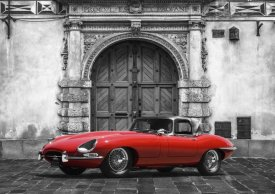 Gasoline Images - Roadster in front of Classic Palace