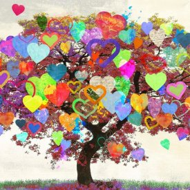 Malia Rodrigues - Tree of Love (detail)