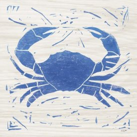 Courtney Prahl - Sea Creature Crab Blue