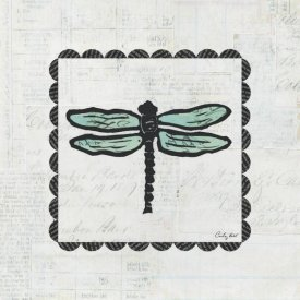 Courtney Prahl - Dragonfly Stamp
