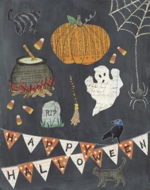 Courtney Prahl - Halloween Whimsy I