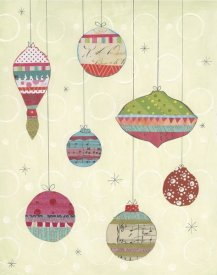 Courtney Prahl - Retro Ornaments I