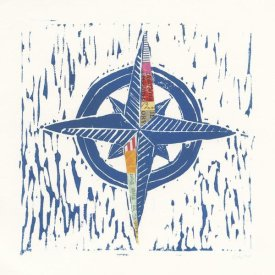 Courtney Prahl - Nautical Collage I