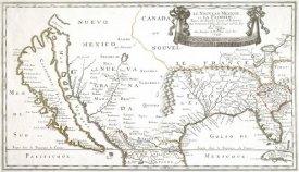 Nicolas Sanson - America with California Shown as an Island, 1656
