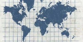 Kathrine Lovell - Indigo Gild World Map I