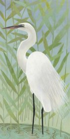 Kathrine Lovell - Egret by the Shore II
