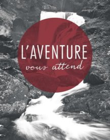 Laura Marshall - Adventure is Out There Red French