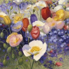 Shirley Novak - Tulips and Poppy Party