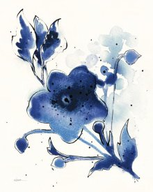 Shirley Novak - Independent Blooms Blue II