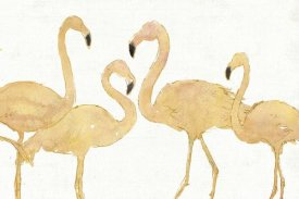 Anne Tavoletti - Flamingo Fever I no Splatter Gold