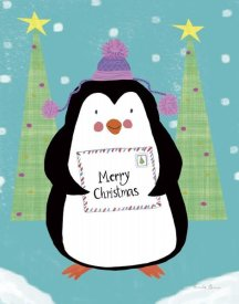 Farida Zaman - Snowman and Penguin Friends I