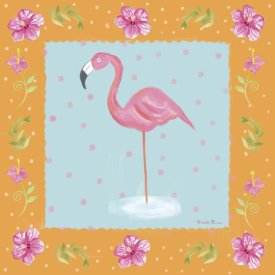 Farida Zaman - Flamingo Dance IV