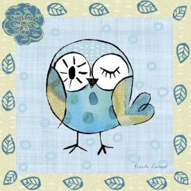 Farida Zaman - Whimsy Owls I