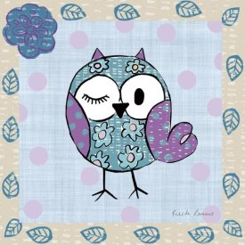 Farida Zaman - Whimsy Owls III