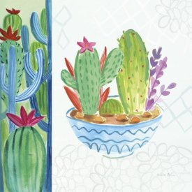 Farida Zaman - Cacti Garden II no Birds and Butterflies