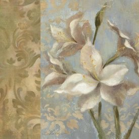 Silvia Vassileva - Amaryllis on Soft Blue  WAG