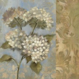 Silvia Vassileva - Hydrangea on Soft Blue WAG