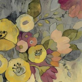 Silvia Vassileva - Yellow Floral Duo I Crop