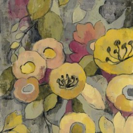 Silvia Vassileva - Yellow Floral Duo II Crop