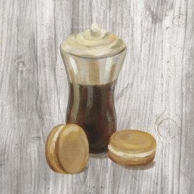 Silvia Vassileva - Coffee Time I on Wood