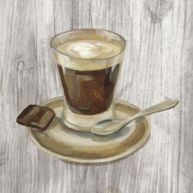 Silvia Vassileva - Coffee Time III on Wood
