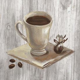 Silvia Vassileva - Coffee Time IV on Wood